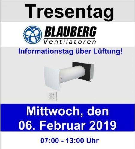 Blauberg Ventilatoren Tresentag