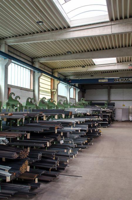 Baustahl/Stabstahl - Lager für Stabstahl