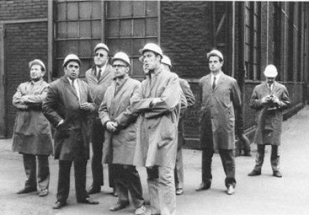 1964 - Eröffnung einer Sanitärausstellung am Pulverweg