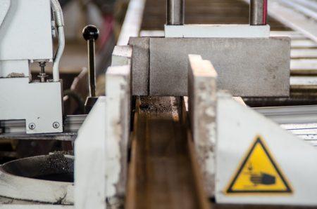 Stahl/Baustahl - Sägen von Trägern und Profilen