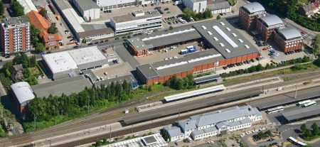 Luftaufnahme Gelände W.L. Schröder